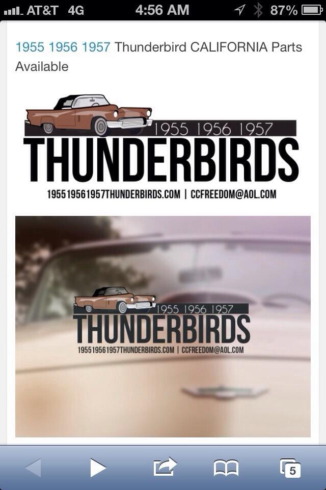 1956 1957 Thunderbird Switch  Wiring Assembly Turn Indicator SWITCH