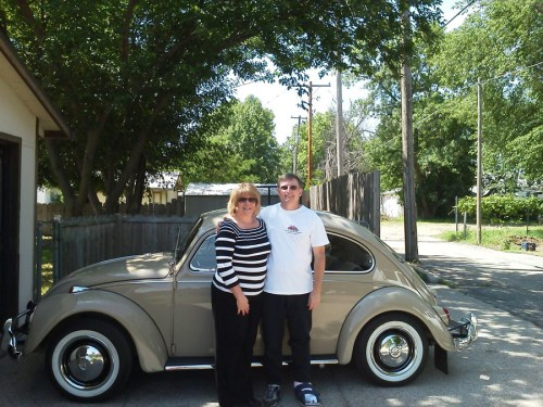 SOLD — Chris Vallone's L620 Savanna Beige '67 Beetle