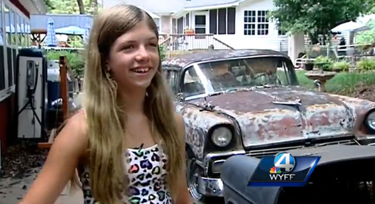 Lisa Tucker's Stolen '67 Beetle Found