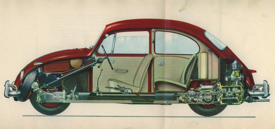 Gavin LaMaide's '67 Beetle Pedal Alignment