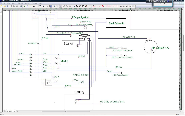 chris craft ignition wiring diagram