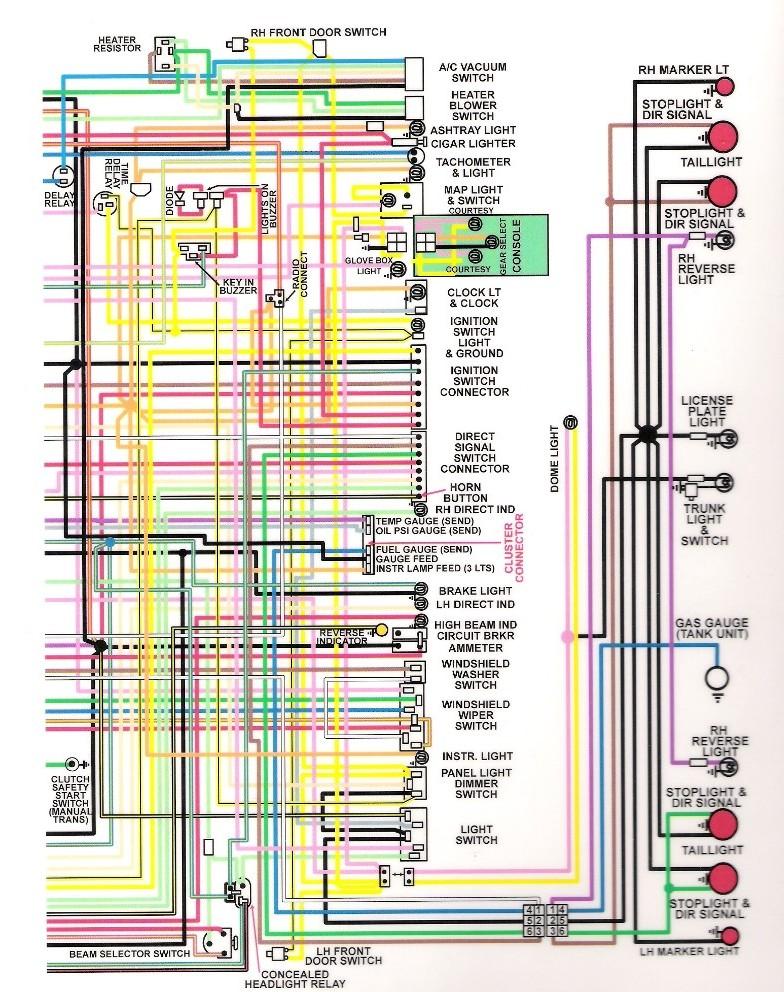 72 Camaro Ignition Switch Wiring Diagram Schematic Diagram