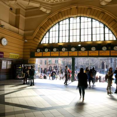 "'Under the clocks', Flinders St Station, Melbourne      <a href=""http://19onephotography.com/?p=99507"">Buy Now</a>"