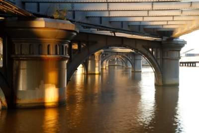 Sandridge Bridge, Melbourne  Buy Now