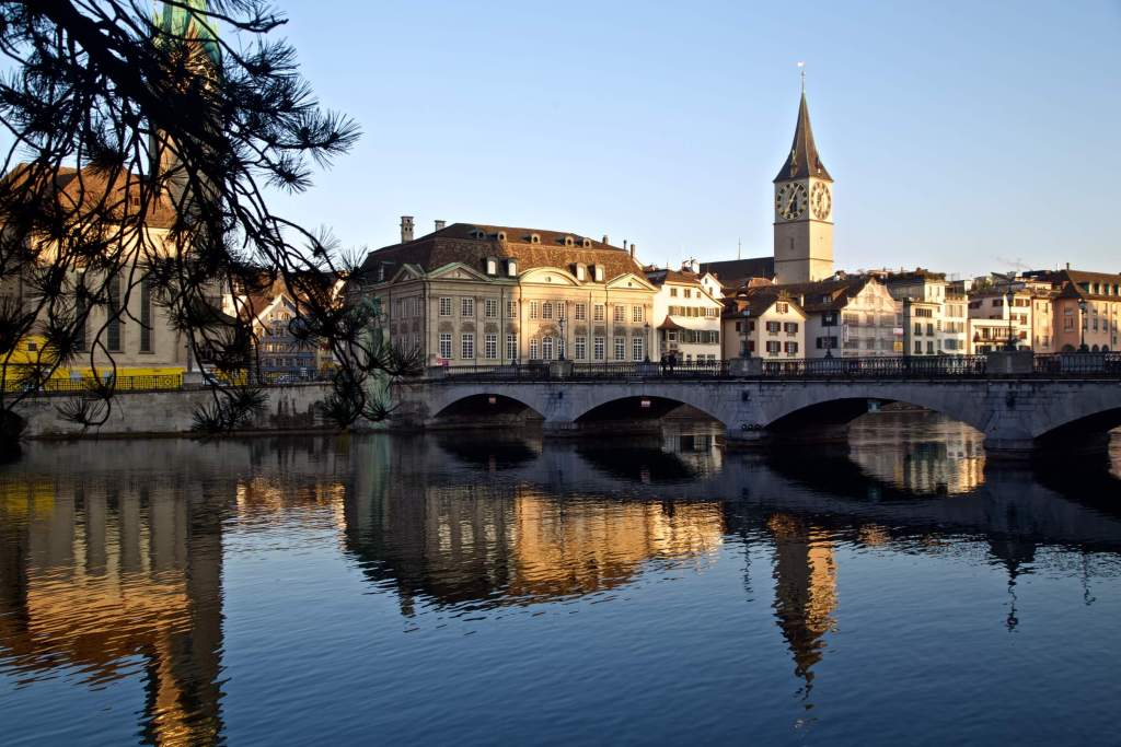 Zurich sunrise      Buy Now