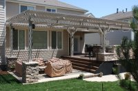 Louvered Awnings | Shade and Shutter Systems, Inc.: New ...