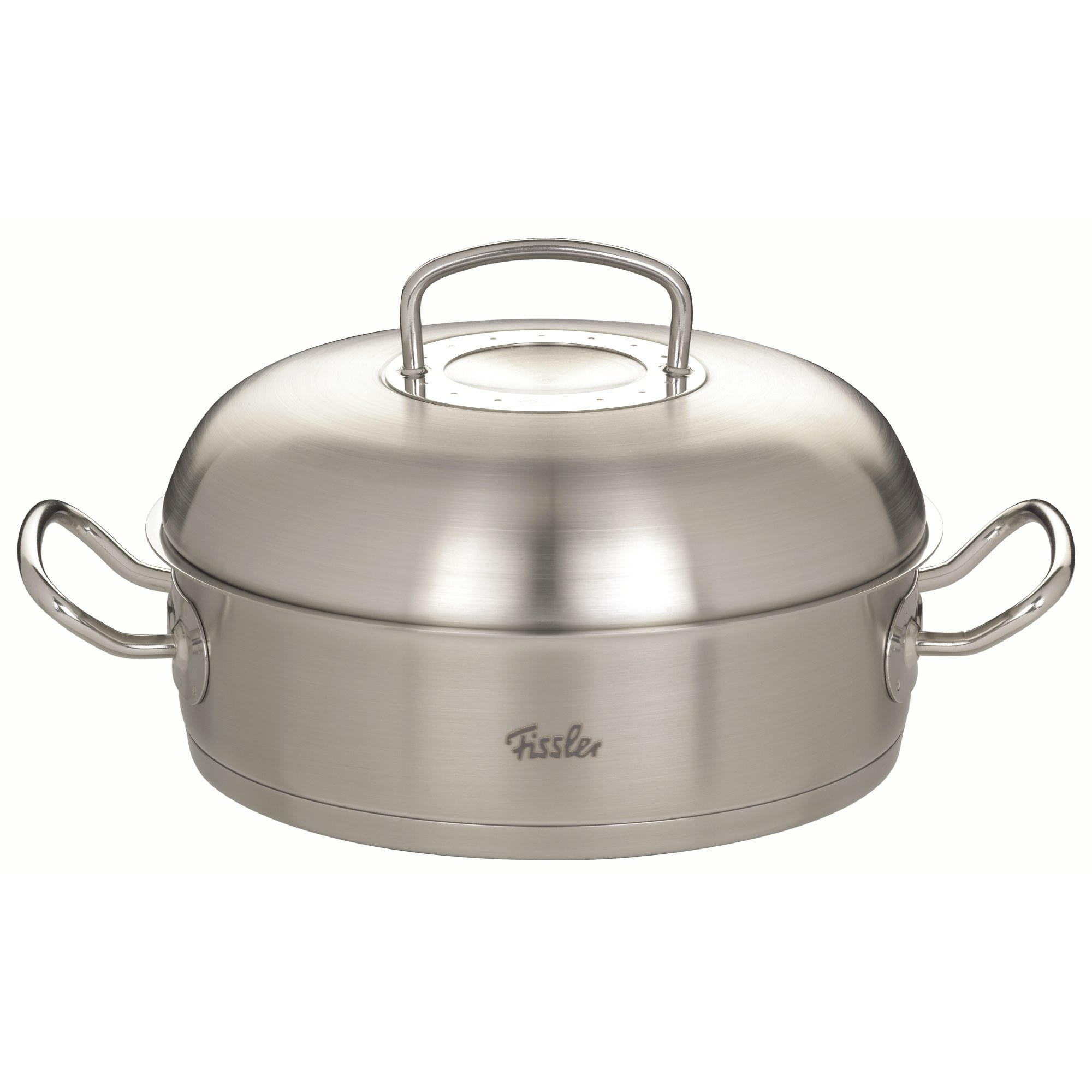 Fissler Original Profi Collection Roaster 28 Cm With Spacious Lid Roasting Dishes Stew Pots Cooking Cooking Baking 1a Neuware Englisch
