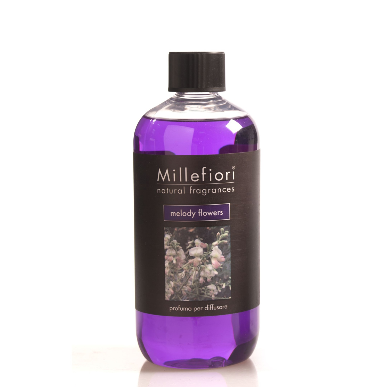 Raumduft Diffuser Millefiori Natural Room Fragrance Diffuser Refill Bottle 500 Ml Melody Flowers