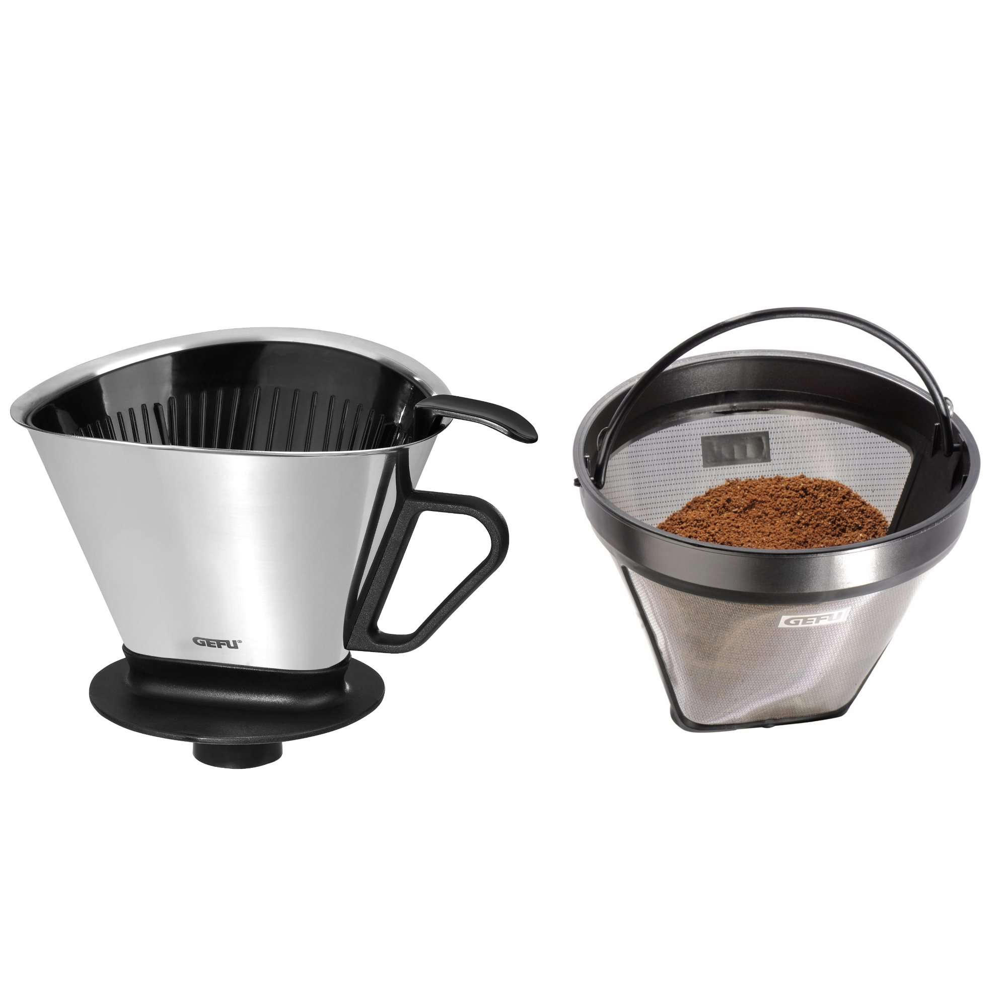 Kaffeefilter Amazon Gefu Angelo Coffee Filter With Arabica Permanent Filter In Set