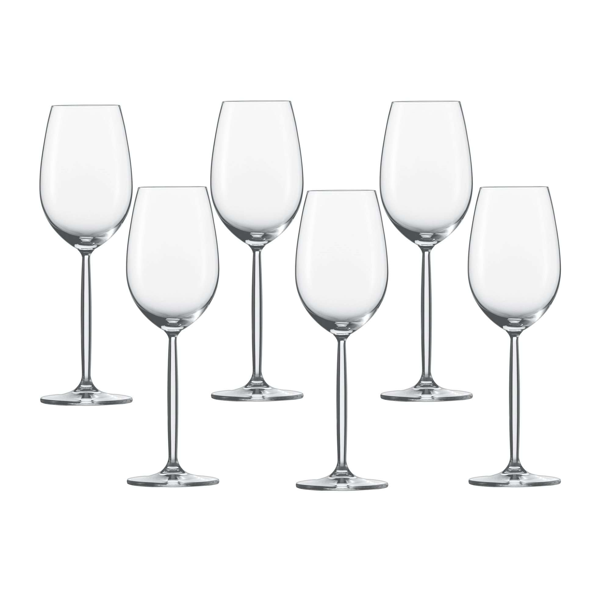 Weinkelch Glas Schott Zwiesel Diva Series White Wine Goblet 6 Pieces Capacity 302 Ml Glass