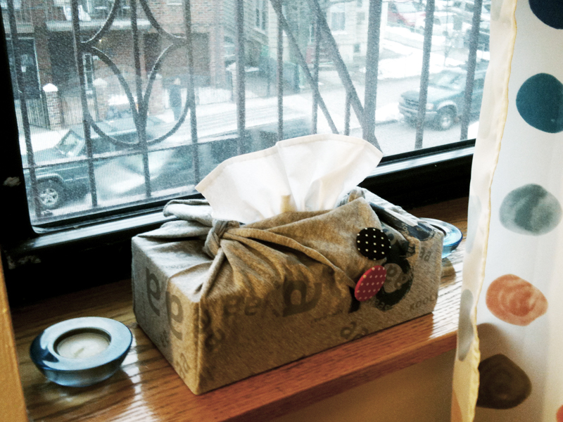 Hankie Tissue Box Cover Make