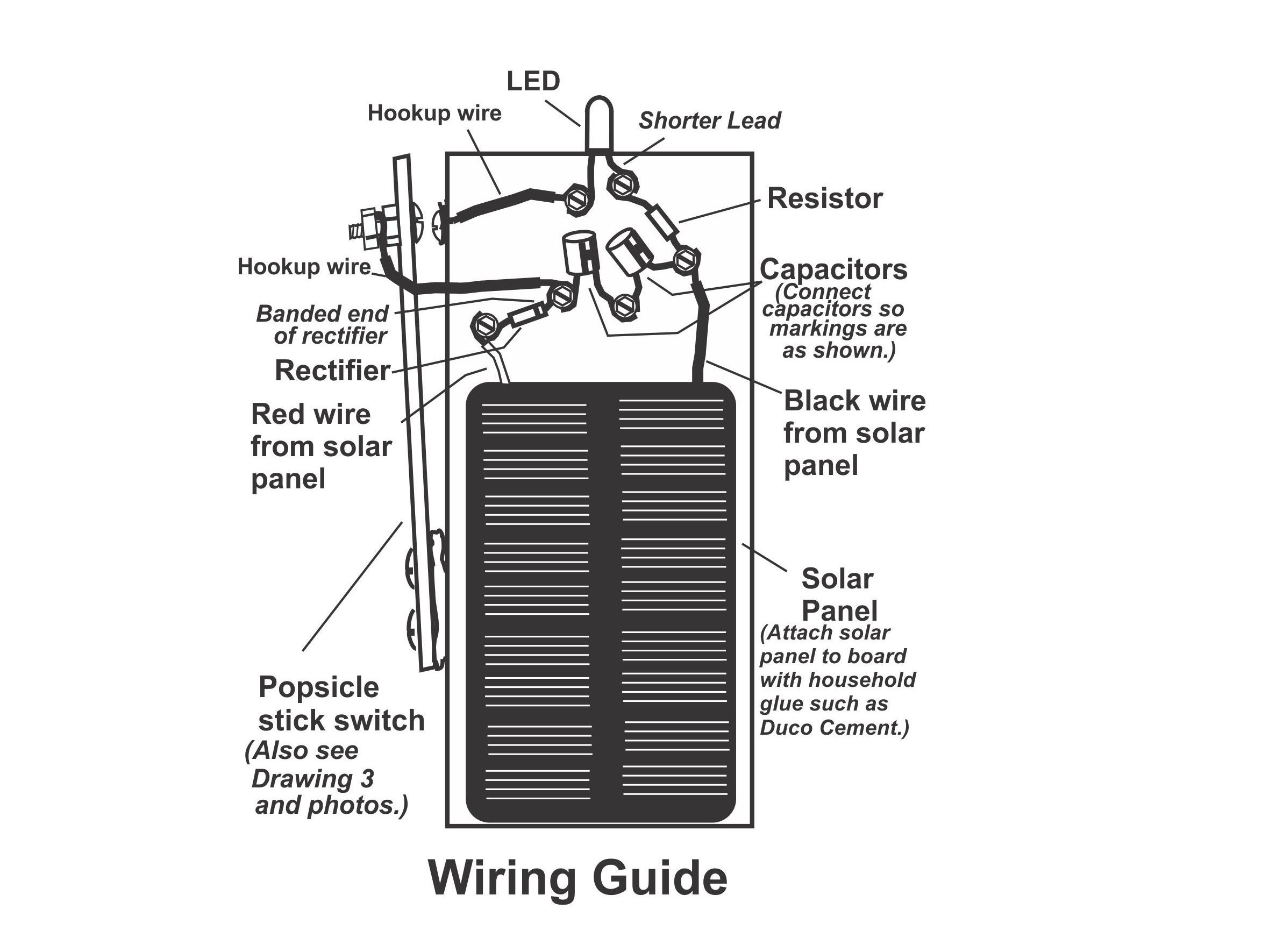 solar panel to battery connect on solar panel to battery wiring