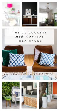 The 10 Coolest Mid-Century Ikea Hacks - Hither & Thither