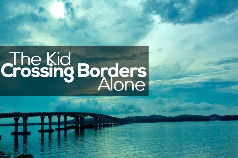 Kid Crossing Borders Alone - 1BabaSalam.com