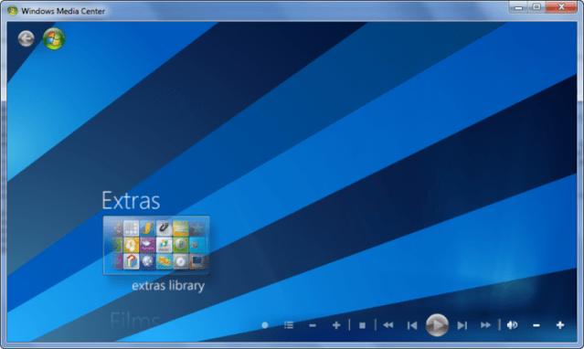 5 1 Customise Windows 7 Media Center (Part 3)