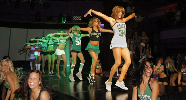 The Girls of the NBA Finals: The Boston Celtics Dancers