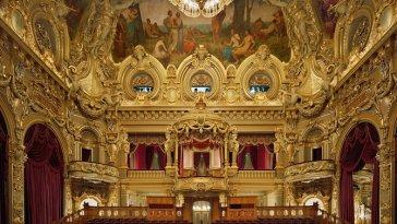 Opera de Monte Carlo, Monte Carlo, Monaco, 2009