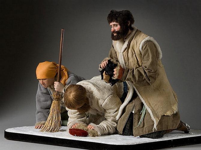 Historical Sculpture Figures of Czarist Russia by George S. Stuart