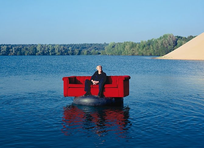 The Red Couch… Photographer Horst Wackerbarth