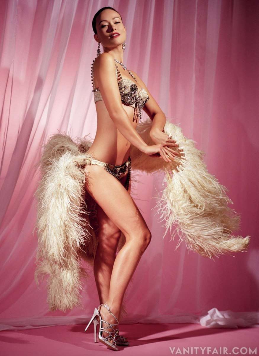 Olivia Wilde As A Sexy Showgirl!