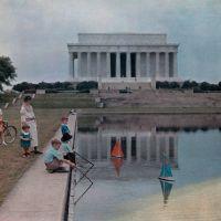 Lincoln Memorial in 1937