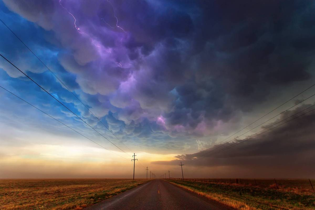 A beautiful storm in Texas.