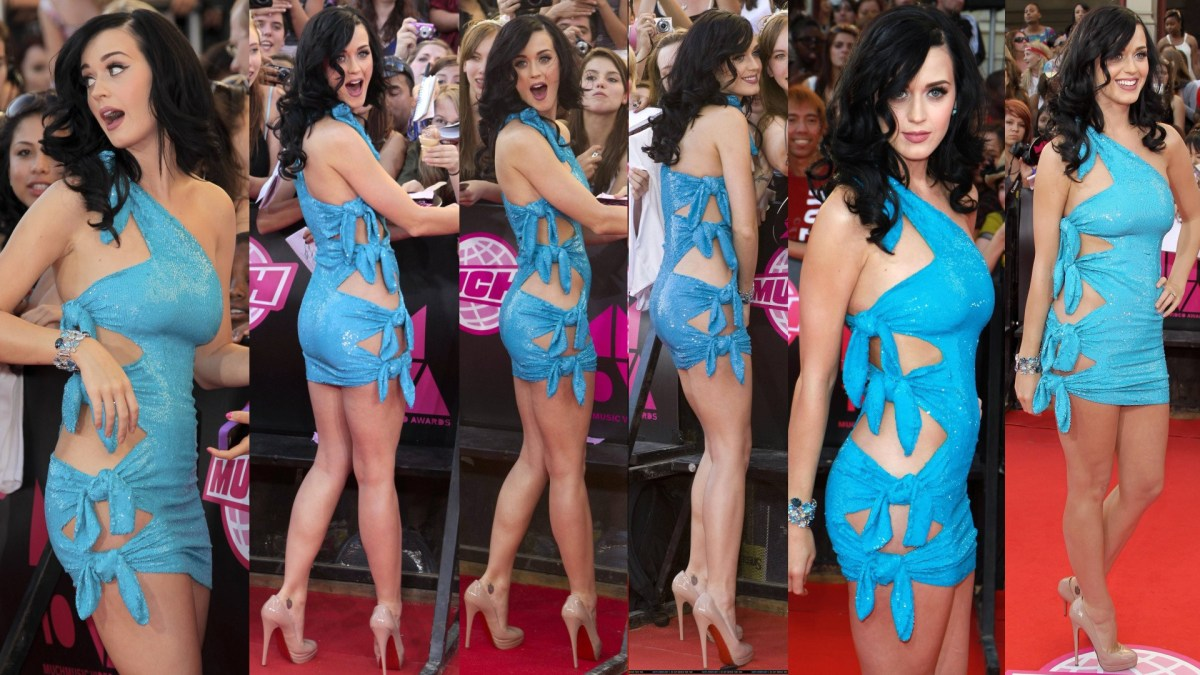 Katy Perry in the Blue Dress