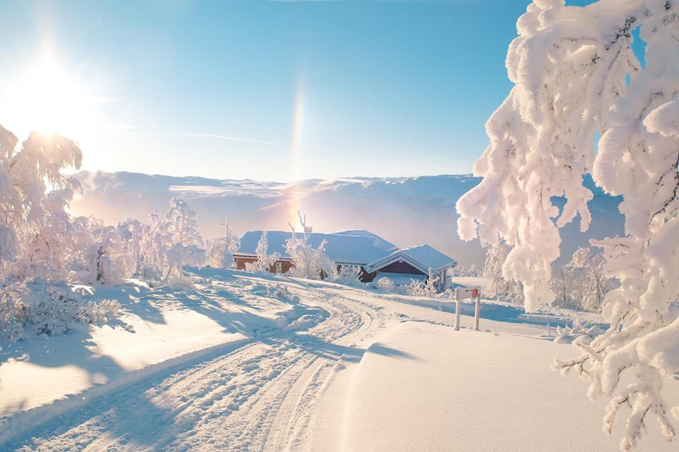 Winter morning in Norway