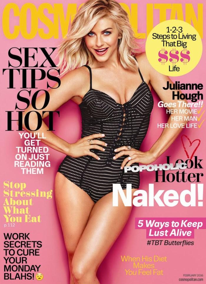 Julianne Hough Gets hot in Cosmopolitan