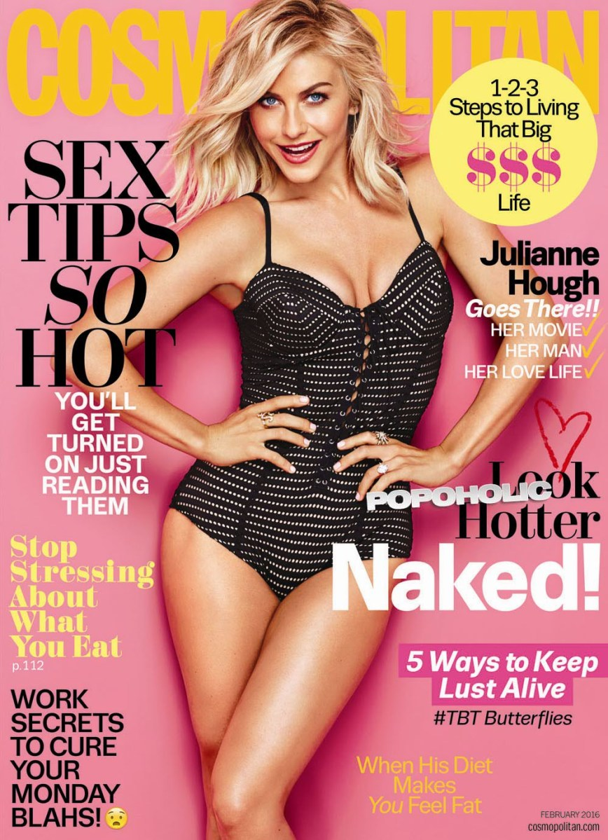 Julianne Hough Gets hot in Cosmopolitan