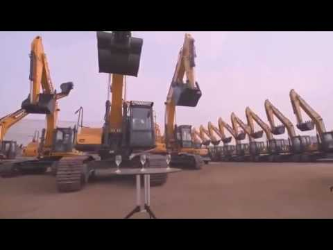 Impressive tricks from excavator drivers