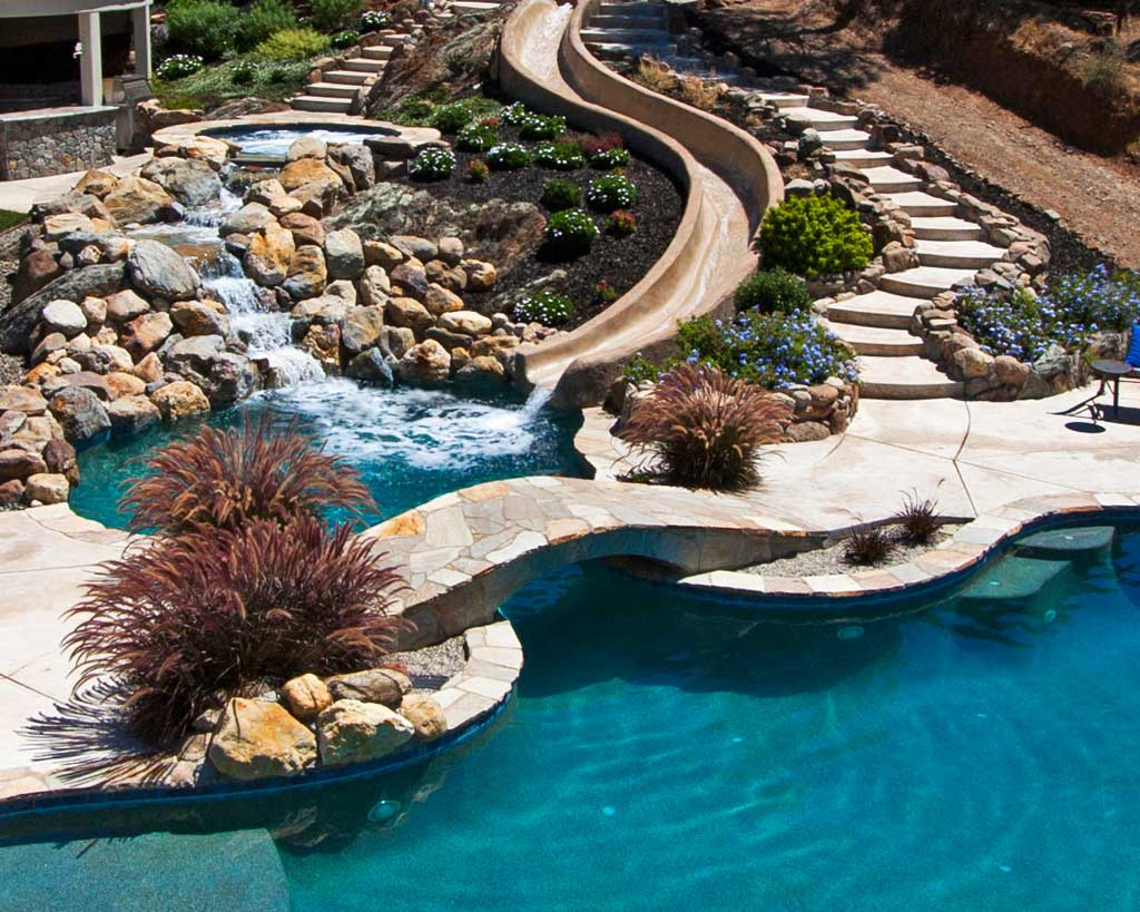 Jacuzzi Pool Bilder Pool Builders Custom Swimming Pools Pool Construction