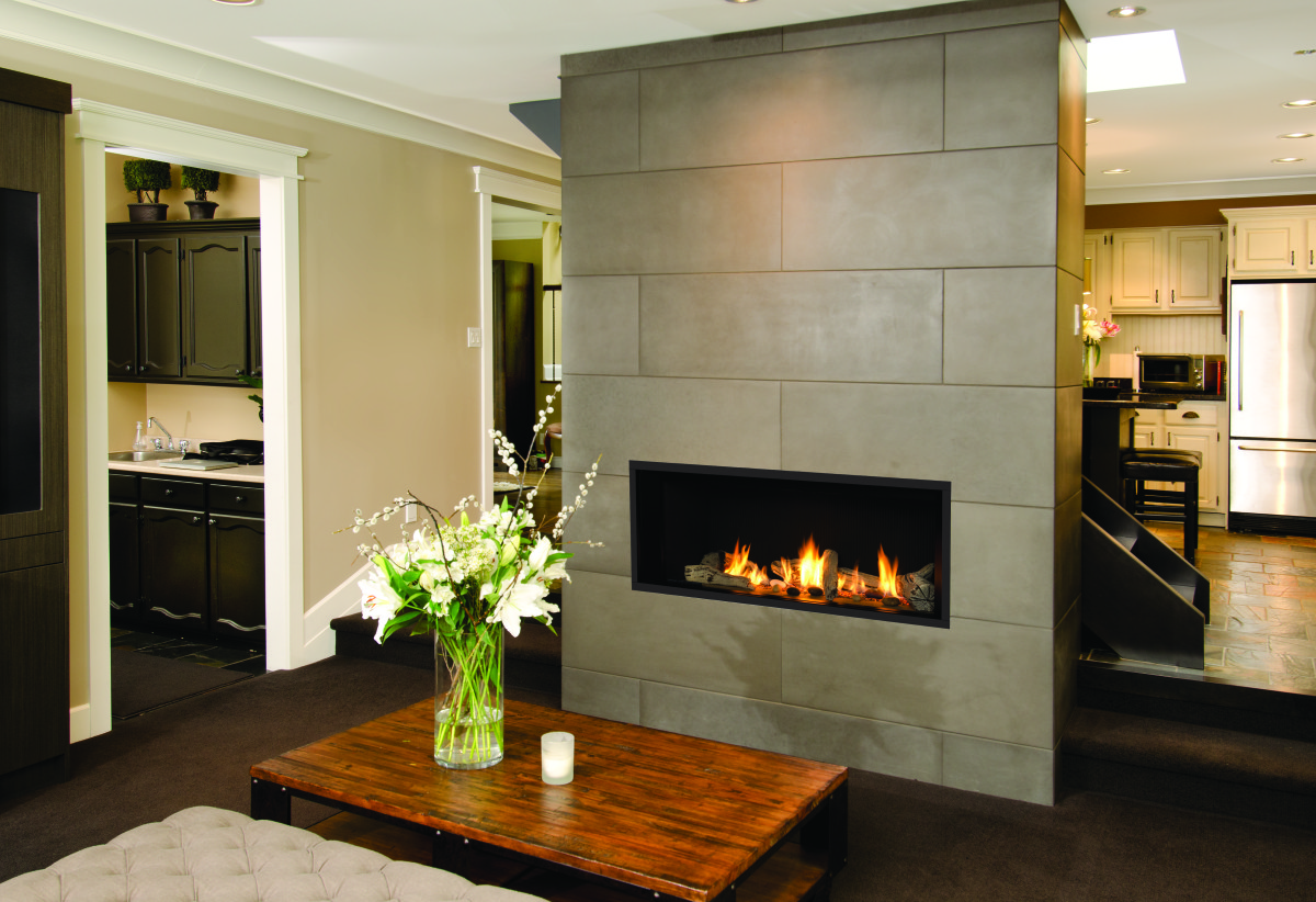 Wall Fireplace Gas Valor L1 Linear Series Sutter Home Hearth