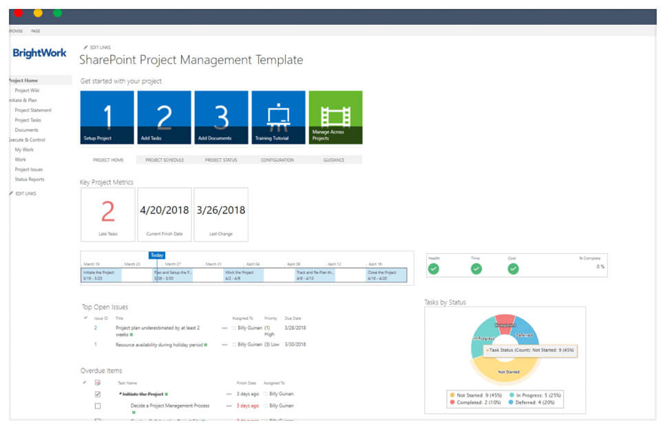 How to Install the Free SharePoint Project Management Template