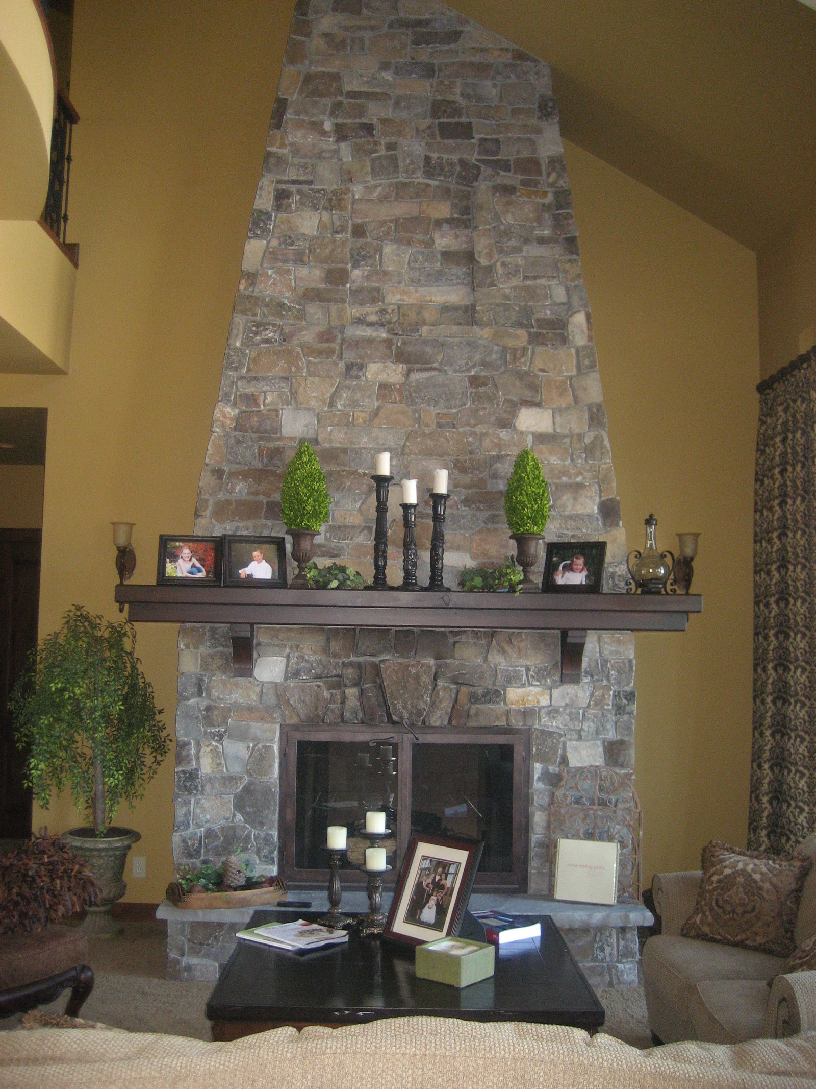 Fireplace Stone Natural Stone Fireplaces Mutual Materials