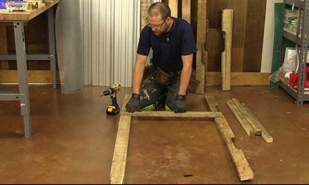 Secure Shelf Supports | Build A Homemade Pallet Smoker