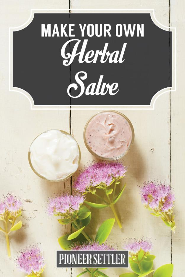 Learn how to make herbal salve
