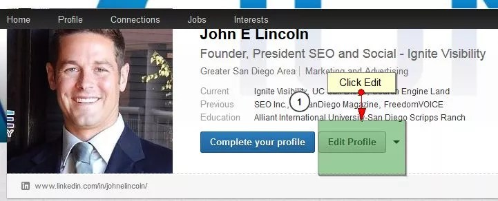How to Add a Background to your Personal LinkedIn Profile