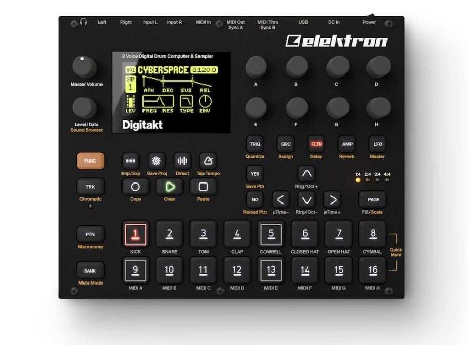 Elektron-Digitakt-Top