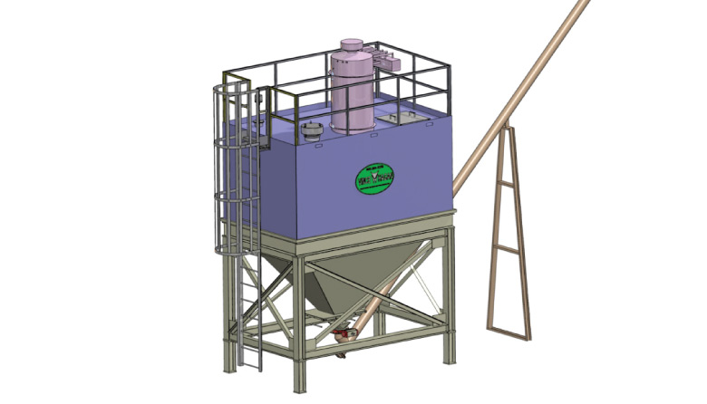 Optional Containerized Batch Plant Equipment