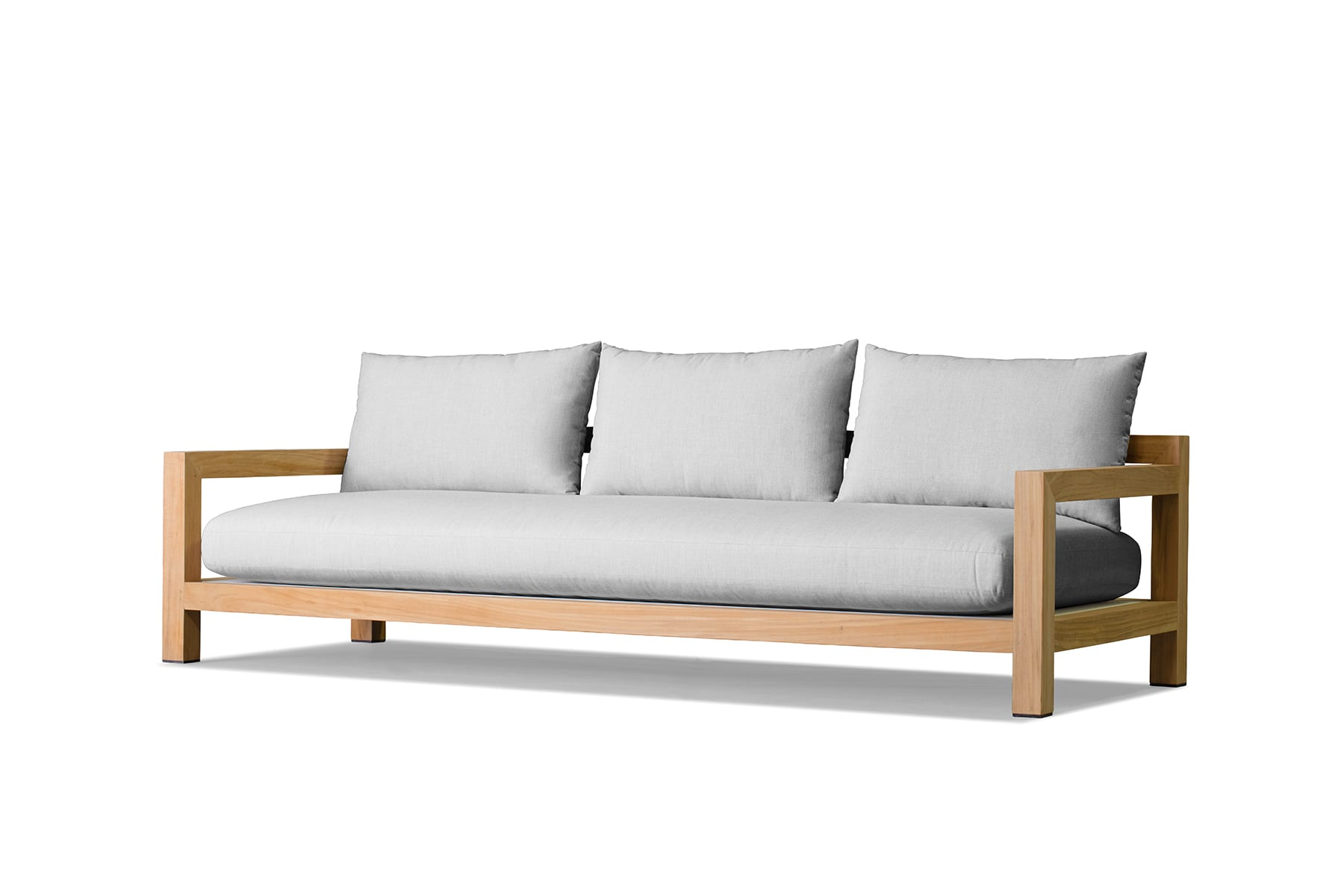 Outdoor Sofa Pacific 3 Seat 2 Arm Sofa