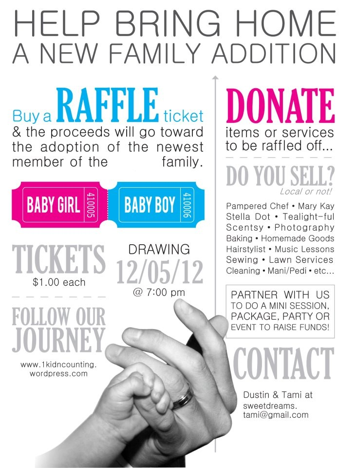 Benefit raffle ticket template - visualbrainsinfo