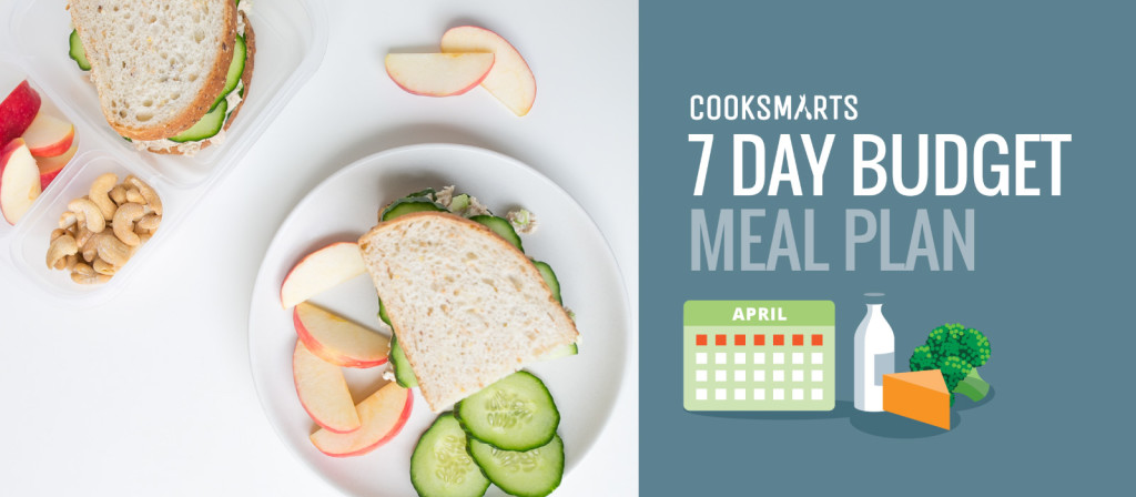 7 Day Meal Plan with Breakfasts, Lunches  Dinners Cook Smarts
