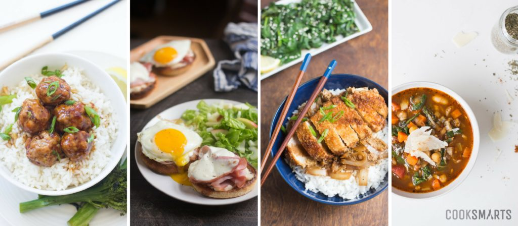 Weekly Meal Plan Menu Cook Smarts - how to plan weekly meals for two