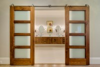"""Sun Mountain Contemporary Barn Door Featured in """"For Your ..."""