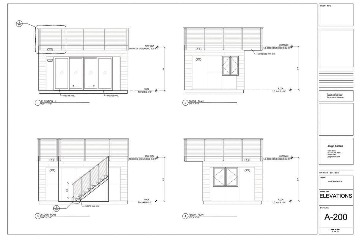 Office Plans Backyard Office Design Fontan Architecture