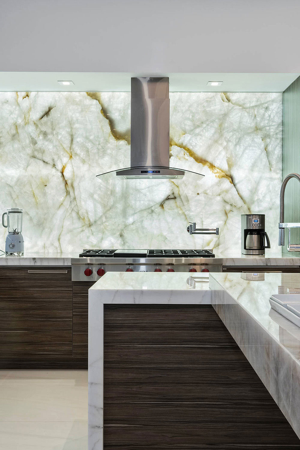 12 Onyx Kitchen Backsplash Ideas Luxury Look