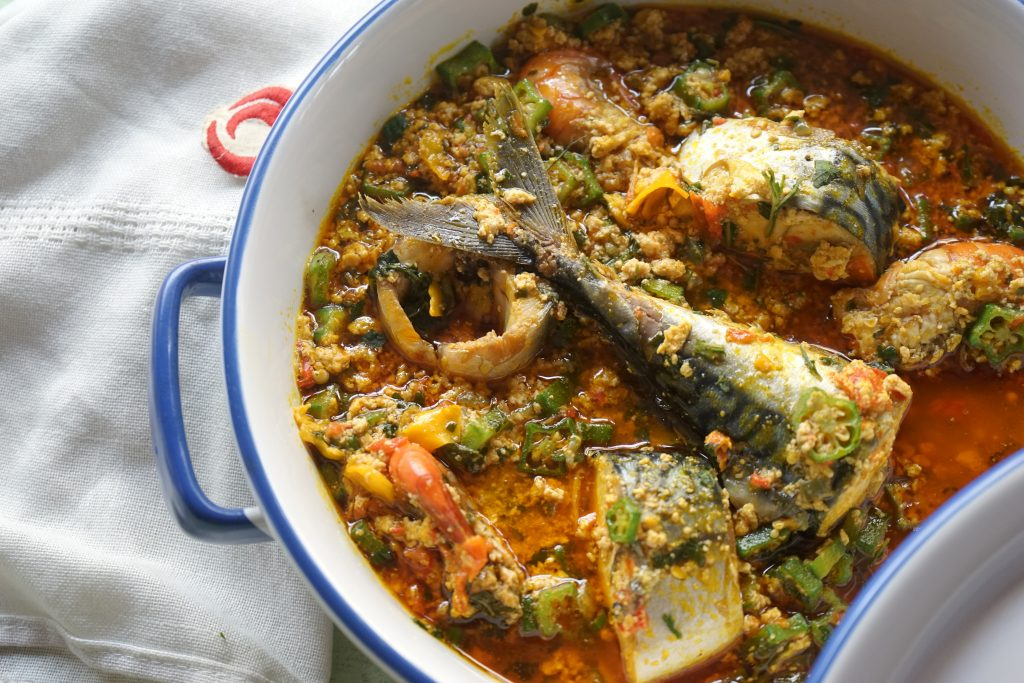Small Kitchen Egusi And Okro Soup | Top Nigerian Food Blog