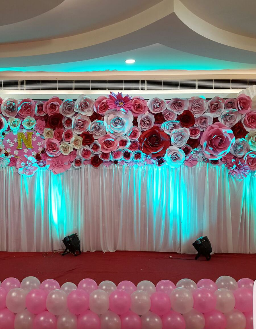 Stage Decoration Birthday Stage Decorations 1st Birthday Party Decorations Hyderabad