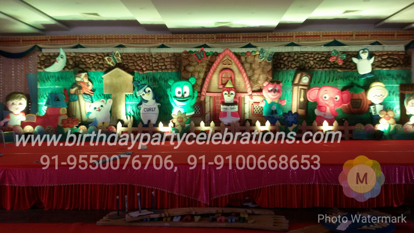1st Birthday Party Decorations Hyderabad Kids